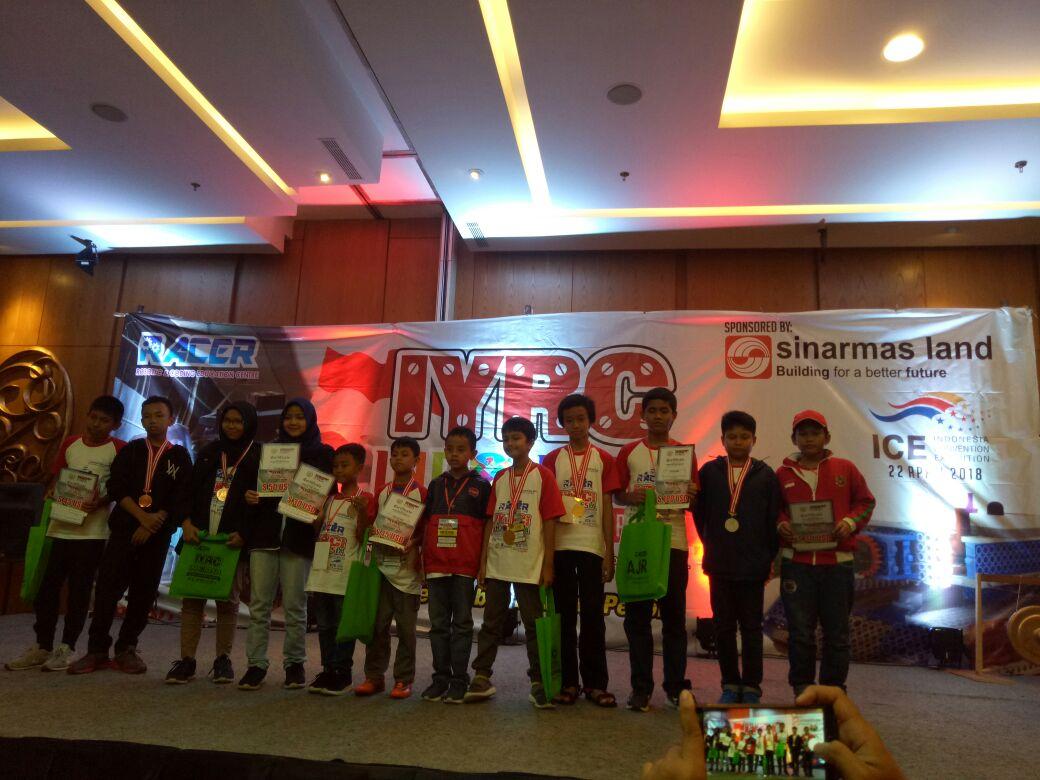 Siswa Fikar School Juara lomba Robotic Ice BSD