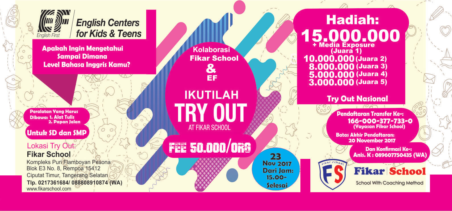 Try Out Fikar