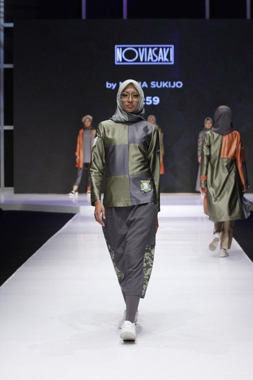 Siswa Fikar ikutan Lomba Busana Muslim 3