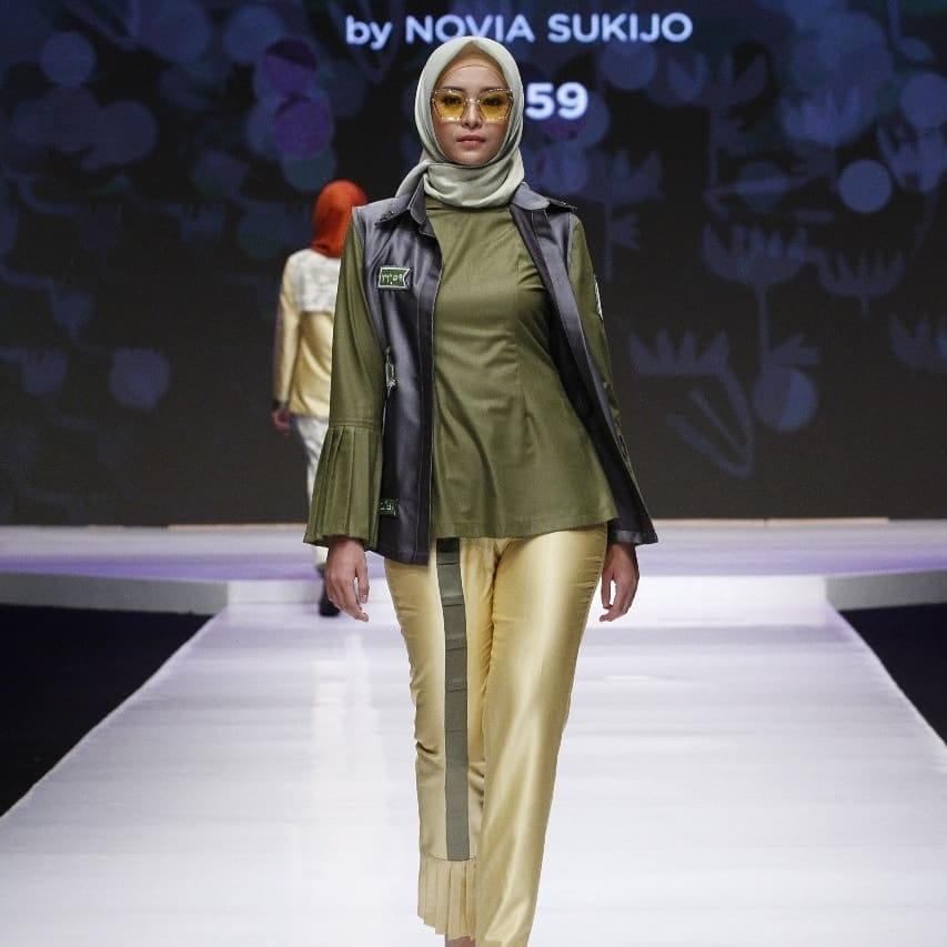 Siswa Fikar ikutan Lomba Busana Muslim jakarta