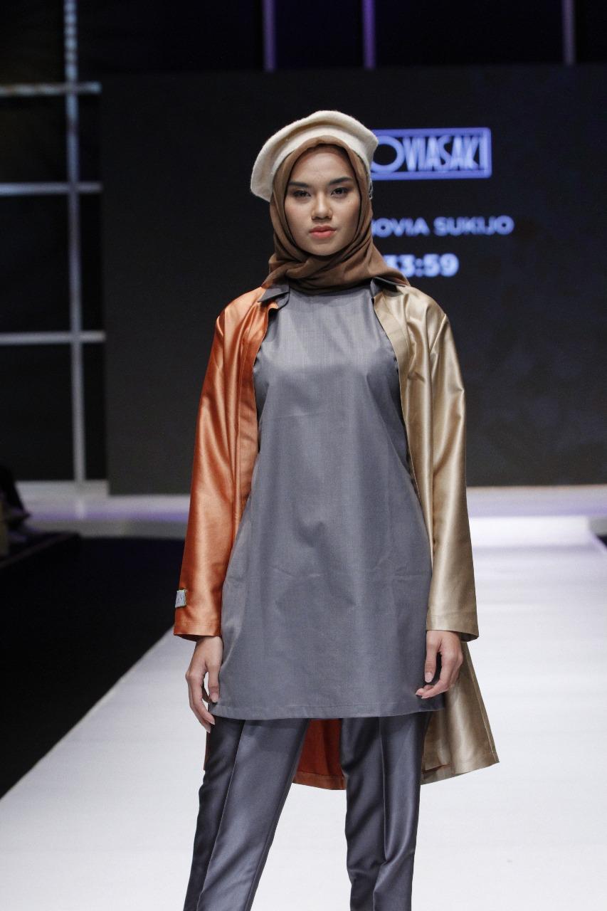 Siswa Fikar ikutan Lomba Busana Muslim1